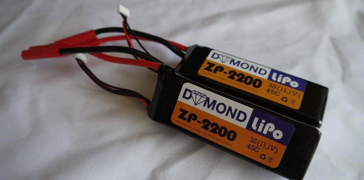 Dymond ZP Hochleistungs-Lipos Test