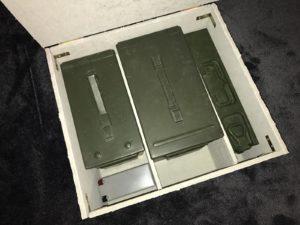 Alte Munitionsboxen Ammoboxen zur Aufbewahrung von LiPo Akkus
