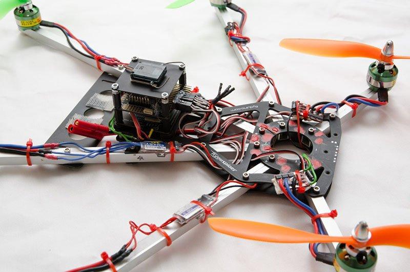 Flyduspider Hexacopter komplett
