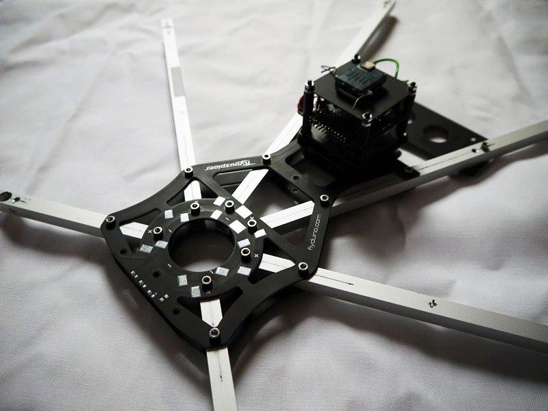 Flyduspider Hexacopter - Die fliegende Spinne - Drone-Zone
