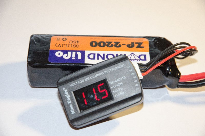 Nine Eagles (Robbe) Batterychecker Lipo 1-6