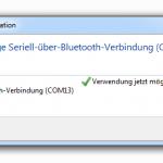 Bluetooth Adapter Treiberinstallation erfolgreich