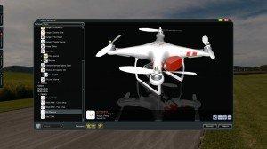 Phoenix RC5 DJI Phantom V1 Quadrocopter