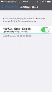 GoPro Hero3+ Update Suche