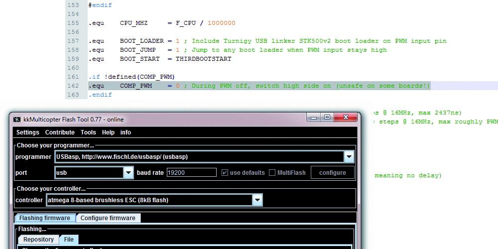 Teaser SimonK Compiler