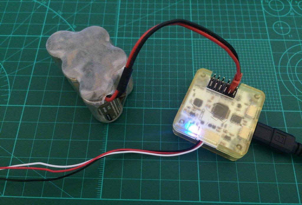 CC3D Cleanflight Installation mit externer Stromquelle