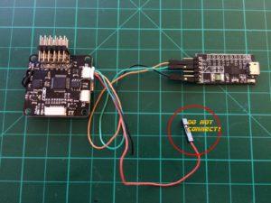 CleanFlight CC3D - UART Verbindung