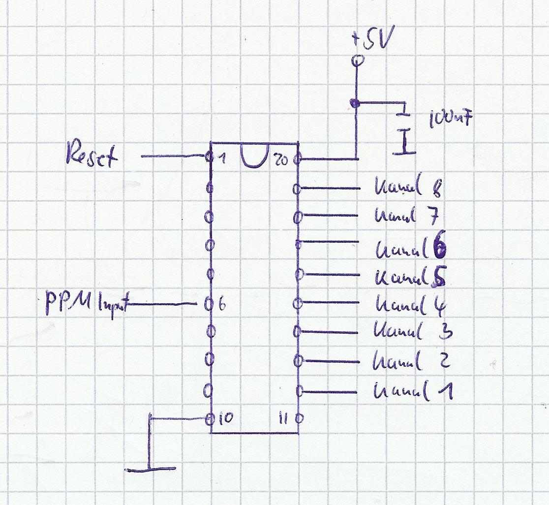 Anleitung: PPM Encoder / PPM2PWM Converter bauen - Drone-Zone de