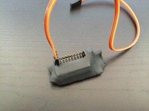 PPM Encoder - Gerade Pins Draufsicht