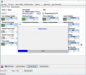 BLHeliSuite - Flash Vorgang