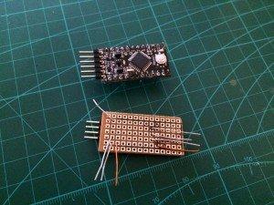 Jeti Duplex EX DYI Voltage Sensor - Arduino