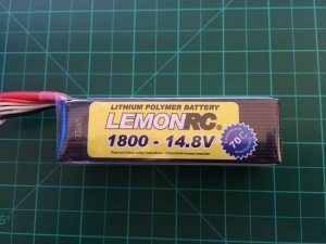 LemonRC 4S 1800mah 70C - Front side