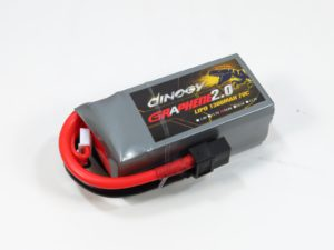 Dinogy Graphene 2.0 4S 1300 mAh 70C - Final Product Design