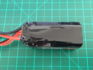 Dinogy Graphene 2.0 4S 1300 mAh 70C PT - Top View
