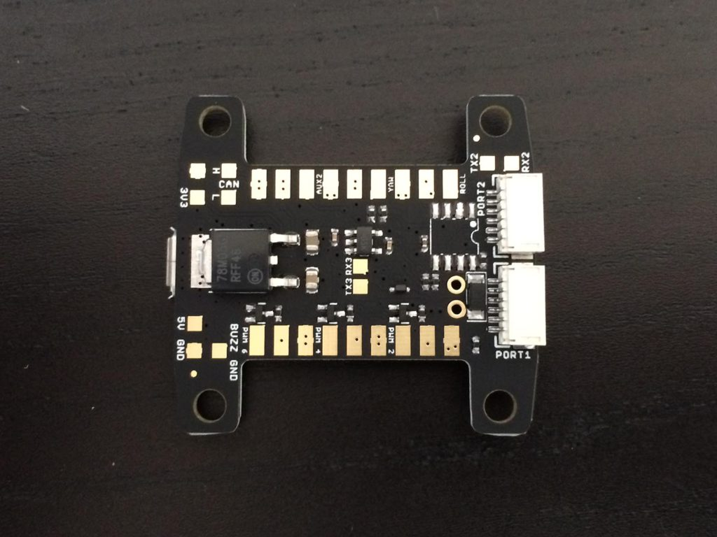 Flyduino KISS FC - Back Side View