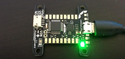 Flyduino KISS FC - Powered up