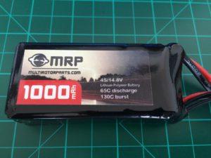 MRP 4S 1000 mAh 65-130 C - Front
