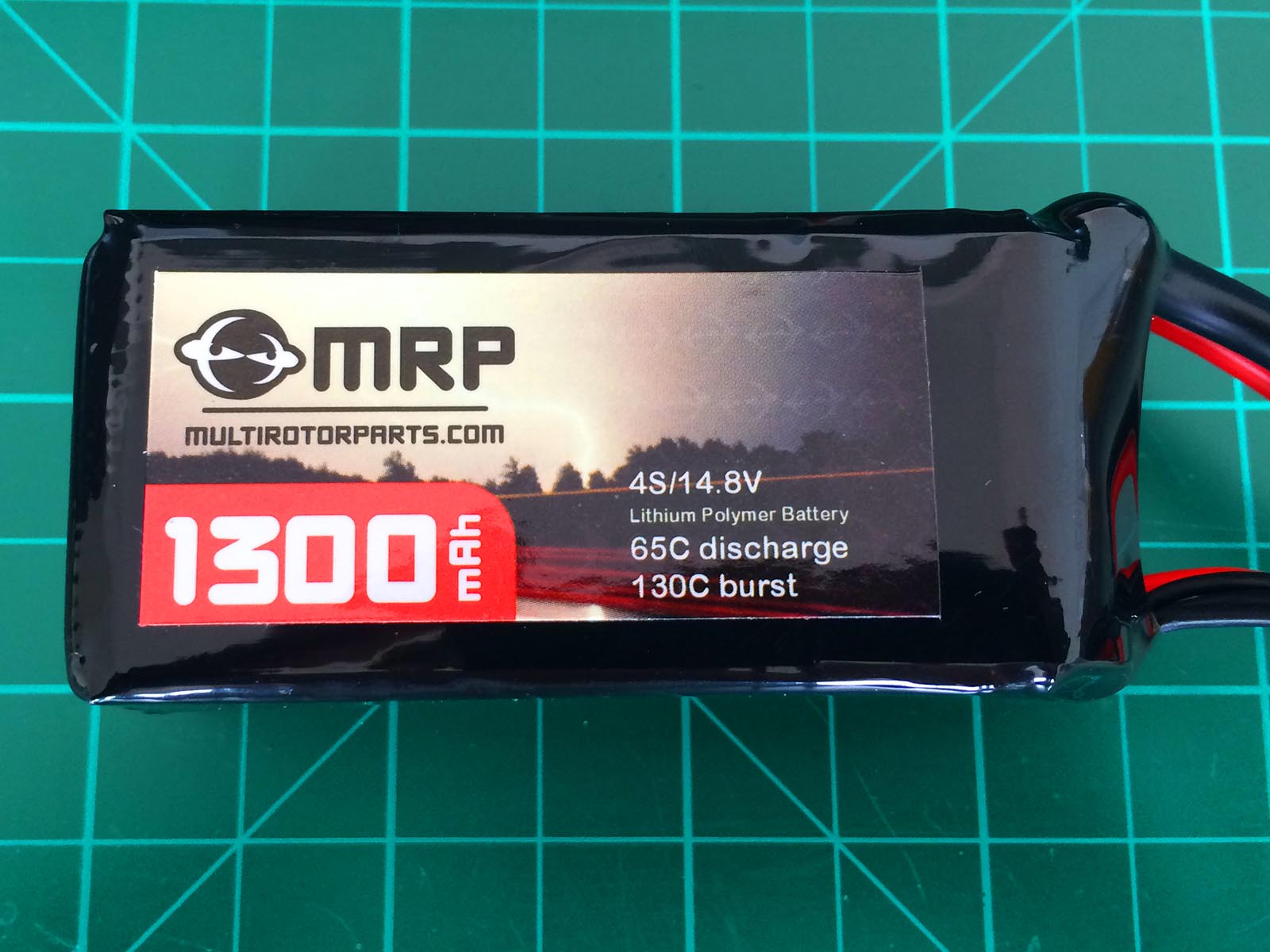 MRP 4S 1300 mAh 65-130 C - Front