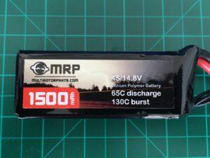 MRP 4S 1500 mAh 65-130 C - Front