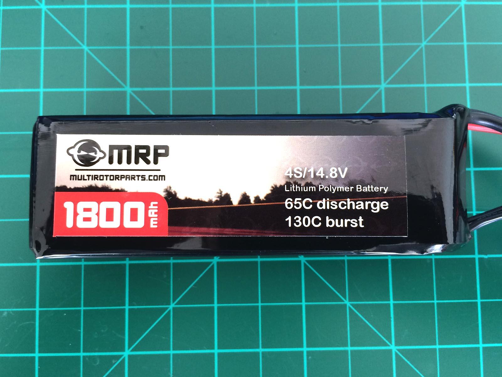 MRP 4S 1800 mAh 65-130 C - Front