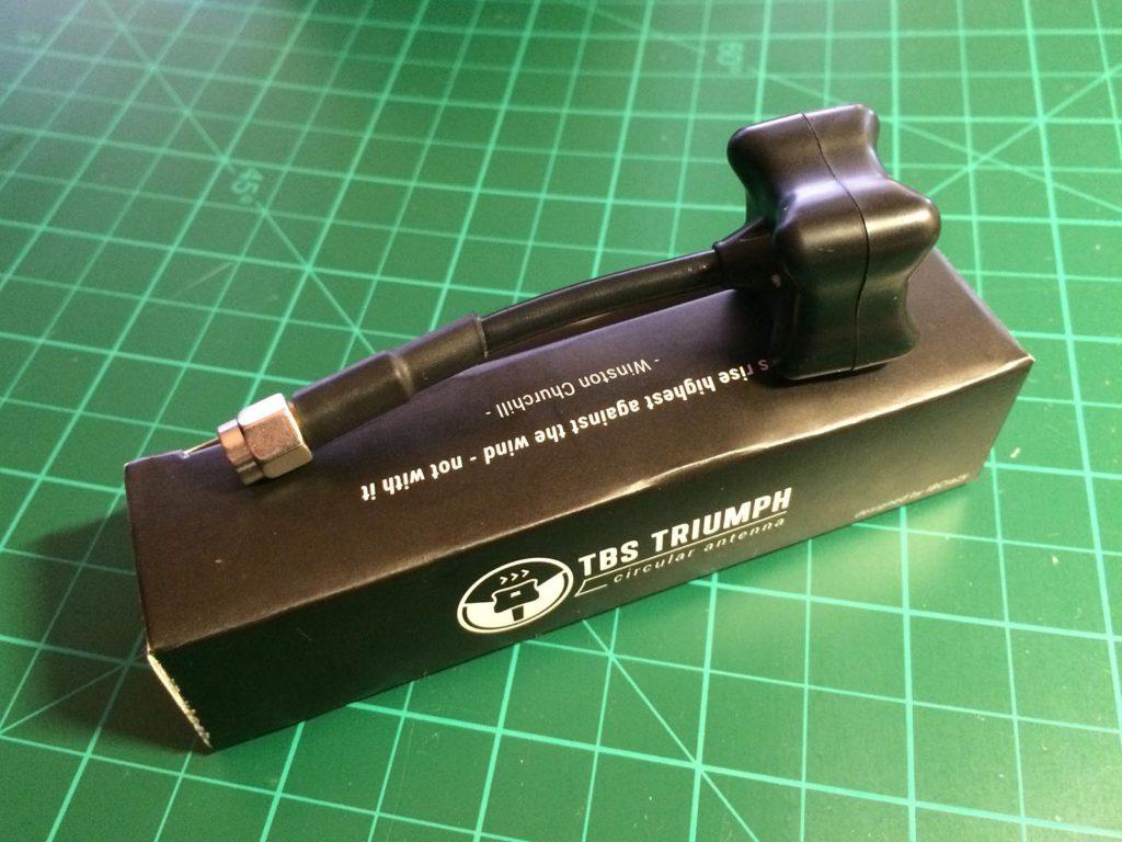 TBS Triumph - Antenna on Box