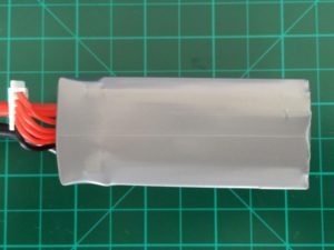 Dinogy Graphene 2.0 4S 1300 mAh 70C - Bottom