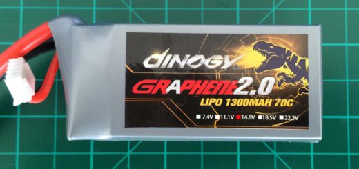 Dinogy Graphene 2.0 4S 1300 mAh 70C - Front