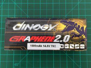 Dinogy Graphene 2.0 4S 1500 mAh 70C - Box