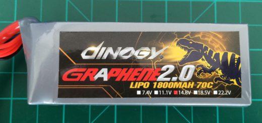 Dinogy Graphene 2.0 4S 1800 mAh 70C - Front