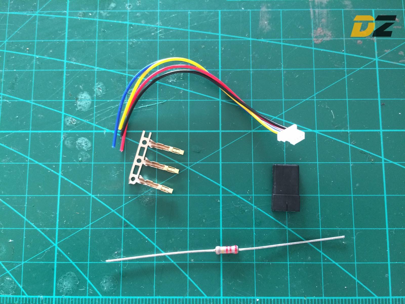 Anleitung Jeti Ex Telemetrie Mit Betaflight Cleanflight Drone Zone Cc3d Wiring Diagrams With Orange Rx Bus Teile
