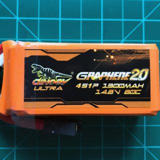 dinogy-ultra-graphene-2-0-4s-1300-mah-80c-front-view