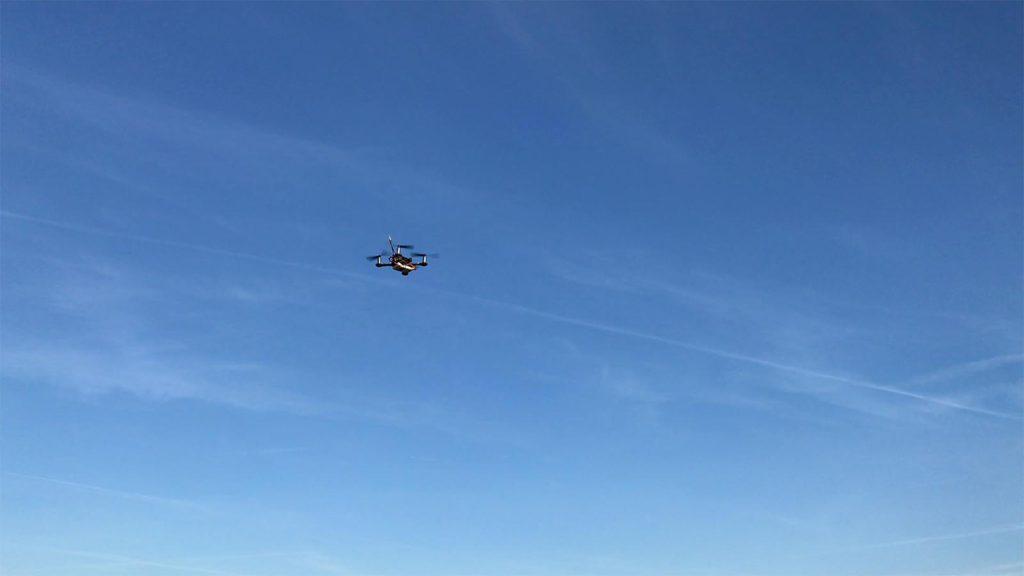 Smart 100 FPV-Racer - Schwebflug