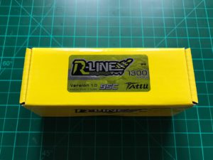 Tattu R-Line 4S 1300 mAh 95 C - Box