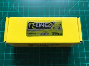 Tattu R-Line 4S 1550 mAh 95 C - Box