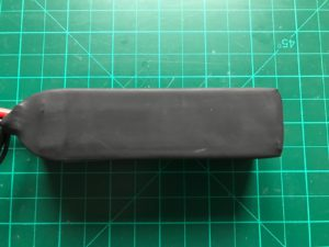 Turnigy Graphene 1500 mAh 65C - Bottom View