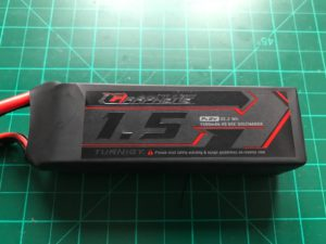 Turnigy Graphene 1500 mAh 65C - Front View