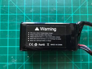 VCANZ 4S 1350 mAh 95 C - Side View