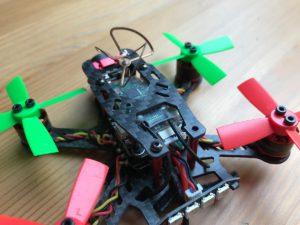Aurora 100 mit Jeti Nano RX