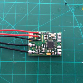 JETI R4 Receiver - Attache EX-BUS Wiring