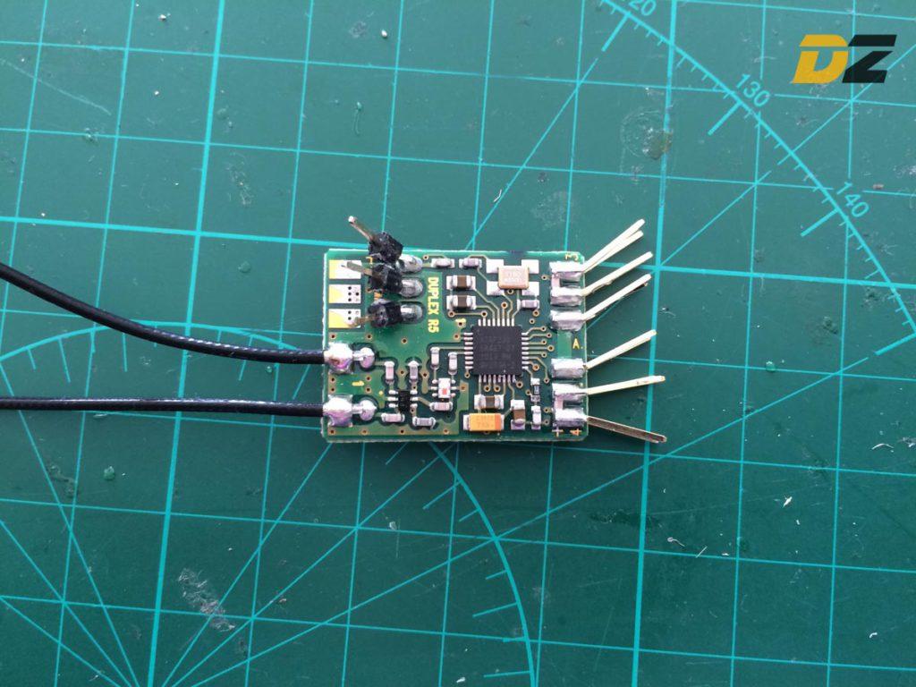JETI R4 Receiver - Desolder Pins