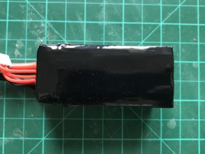 Dinogy Graphene 4S 1300 mAh 65 C - Bottom View