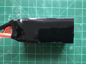 Dinogy Graphene 4S 1300 mAh 65 C - Top View