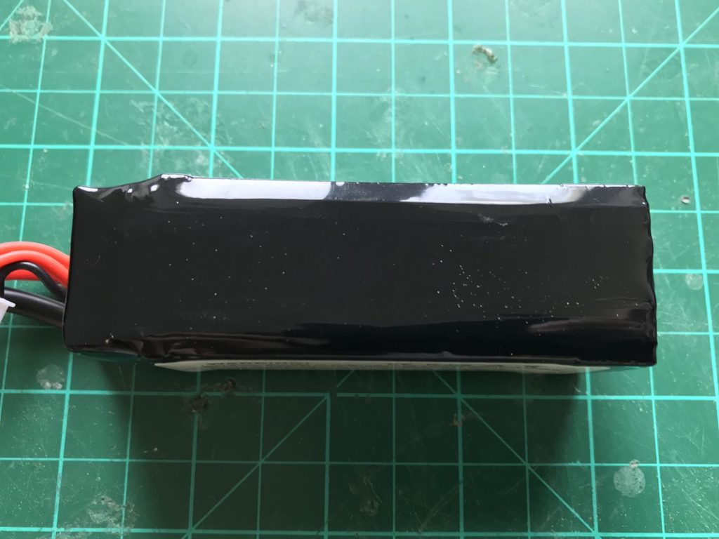 Dinogy Graphene 4S 1500 mAh 65 C - Bottom View