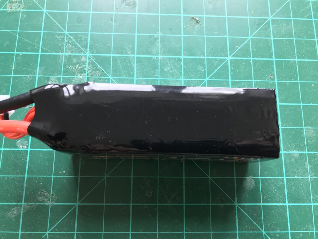 Dinogy Graphene 4S 1500 mAh 65 C - Top View