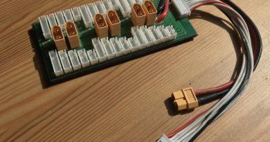 Prallel Charging Board zum gleichzeitigen Laden mehrere LiPos