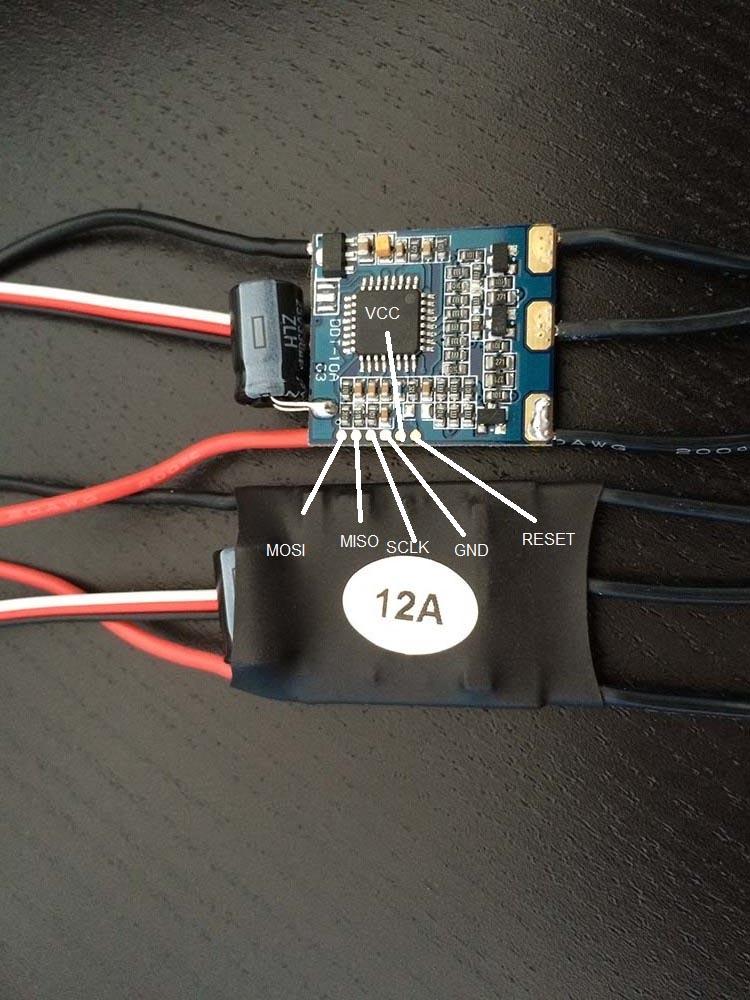 RCTimer SK-12A DDT-10A 03 ESC Pads