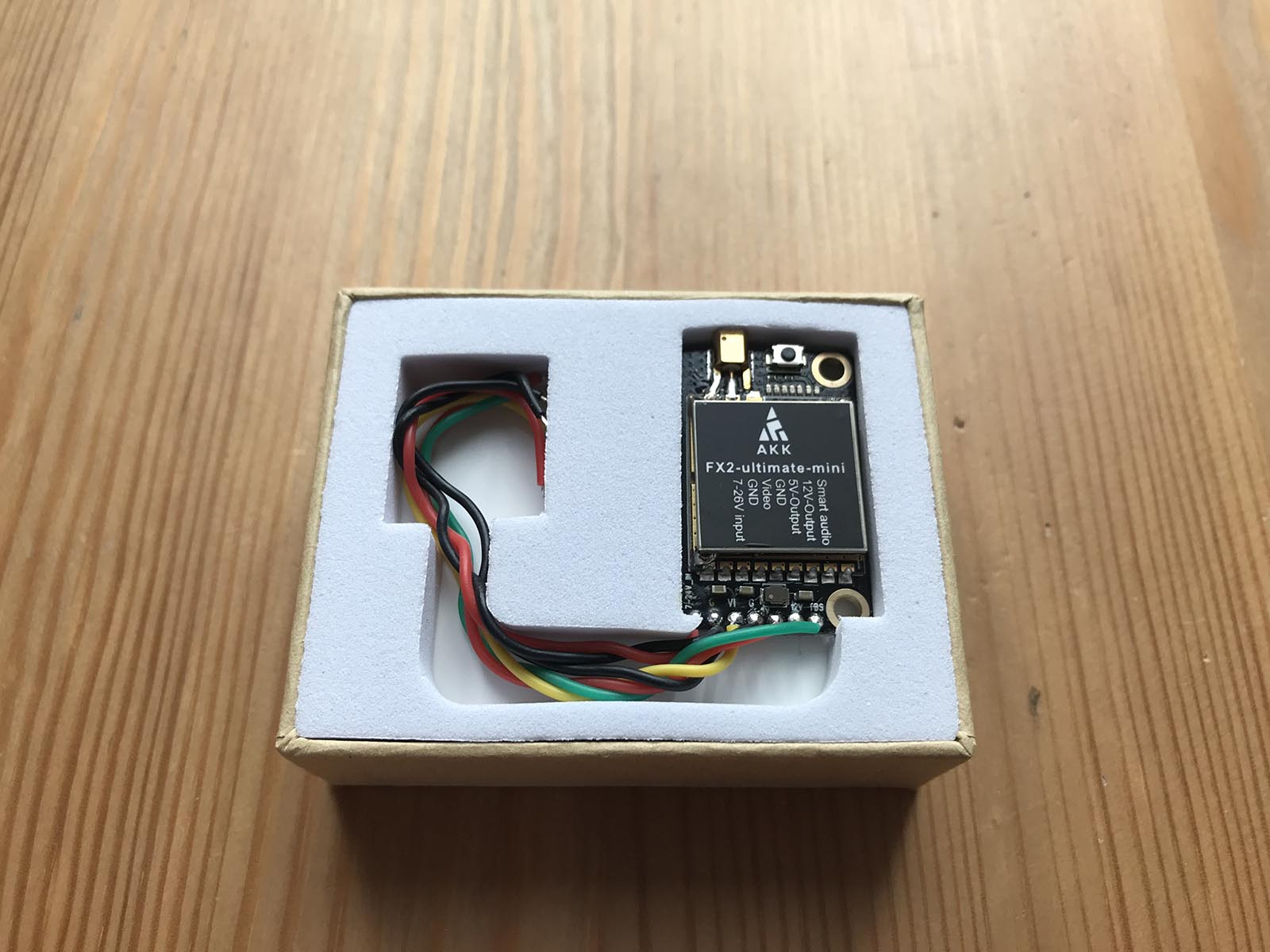 AKK FX2 Ultimate Mini VTX FPV Transmitter - Delivery Box