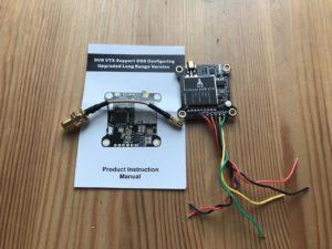 AKK Infinite DVR VTX FPV Transmitter - Components