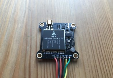 AKK Infinite DVR VTX FPV Transmitter - Top View