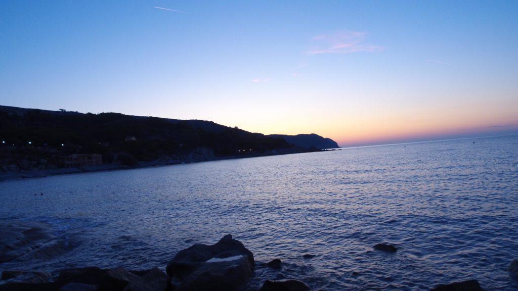 DJI OSMO+ Gimbal Cam - Timelapes Betrieb Einzelbild auf Elba Sonnenaufgang